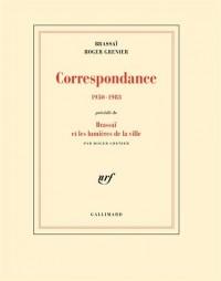 Correspondance: (1950-1983)