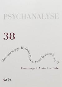 PSYCHANALYSE 38
