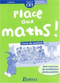 Place aux Maths ! Cycle 2 : CE1 (Manuel du professeur)
