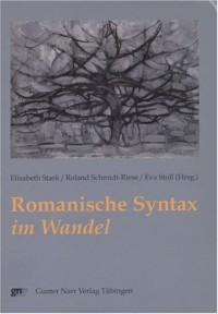 Romanische Syntax im Wandel