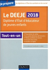 Je prépare le DEEJE 2018 - Diplôme d'État d'éducateur de jeunes enfants