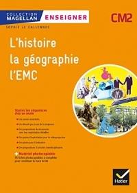 Magellan - Enseigner Histoire-Géographie EMC CM2 Ed. 2019 - Guide + matériel photocopiable
