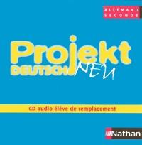 PROJEKT DEUTSCH 2E CD AUDIO ELEVE DE REMPLACEMENT Livre scolaire