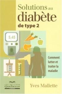 Solutions au diabète de type 2