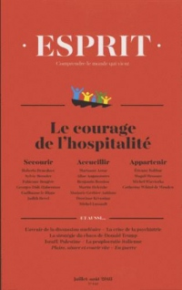 Revue Esprit Juillet-Aout 2018 Refugies