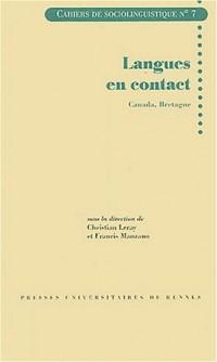 Langues en contact : Canada, Bretagne