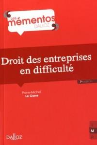 Droit des entreprises en difficulté - 7e éd.