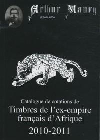 Timbres de l'ex-empire français d'Afrique