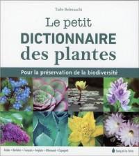 Le petit dictionnaire des plantes