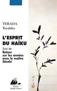 L'esprit du Haïku : Suivi de retour sur les années avec le maître Natsume Soseki