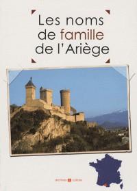 Les noms de famille de l'Ariège