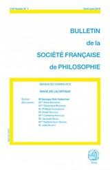 Image (de la) Critique (Bulletin de la SFP, 2016/2)
