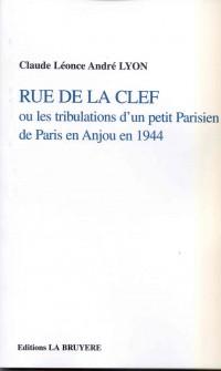 Les Tribulations d'un Petit Parisien de Paris en Anjou en 1944