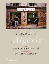 Impressions d'Algérie