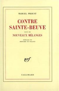 Contre Sainte-Beuve, suivi de