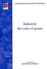 Industrie des cuirs et peaux - Brochure 3058 - 5e édition - Convention du 6 octobre 1956
