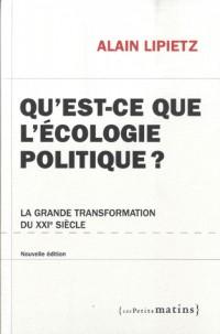 Qu'est-ce que l'écologie politique (36)