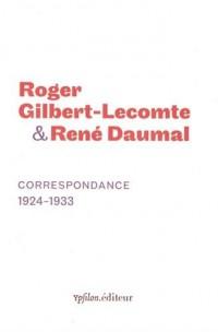 Correspondance 1924-1933