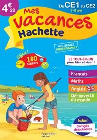 Mes vacances Hachette CE1/CE2 - Cahier de vacances