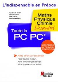 Toute la PC PC* : Maths, physique, chimie