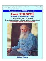 Progressez en russe grâce à Léon Tolstoï : quatre contes populaires