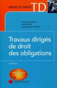 Travaux Diriges de Droit des Obligations
