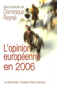L'opinion européenne en 2006