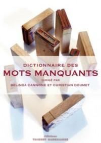 Dictionnaire des mots manquants