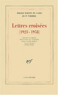 Lettres croisées, 1923-1958