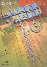 Multi-math 3e : Manuel de l'élève