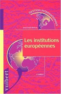Les institutions européennes. 3ème édition