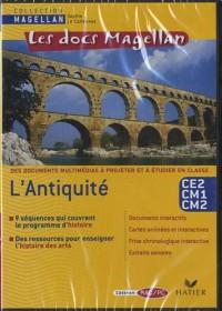 Les docs Magellan : l'Antiquité : CE2, CM1, CM2 (1Cédérom)