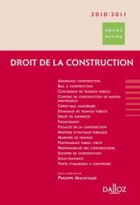 Droit de la construction 2010/2011 - 5e éd.: Dalloz Action