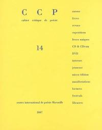 CCP, N° 14 : Jean Daive