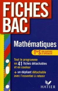 Mathématiques Tle S Enseignement obligatoire et enseignement de spécialité