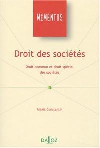 Droit des sociétés Droit commun et droit special des societes