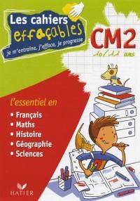 Les cahiers effaçables CM2 : Je m'entraîne, j'efface, je progresse
