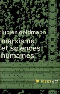 Marxisme et sciences humaines