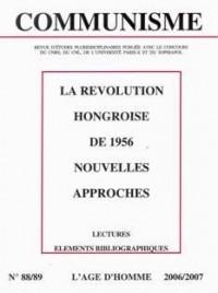 C88/89 Communisme 2006-la Revolution Hongroise de 1956