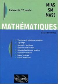 Mathématiques - Université 2ème année - MIAS-SM - MASS