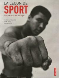 La leçon de sport : Des valeurs en partage
