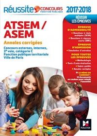 Reussite Concours Atsem/Asem - Sujets Inédits & Annales Corriges - Concours 2017 N 84