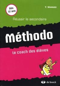 Méthodo : Le coach des élèves