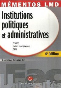 Institutions politiques et administratives