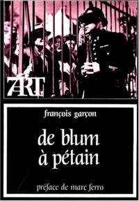 De Blum à Pétain : Cinéma et société française (1936-1944)