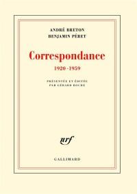 Correspondance: (1920-1959)