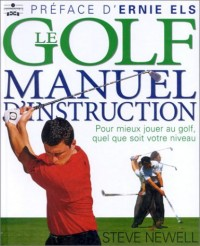 Le Golf : Manuel d'instruction