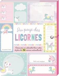 Mes petits messages - Au pays des licornes