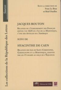 Jacques Bouton Suivi de Hyacinthe de Caen