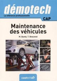 Demotech maintenance des véhicules CAP (2015)